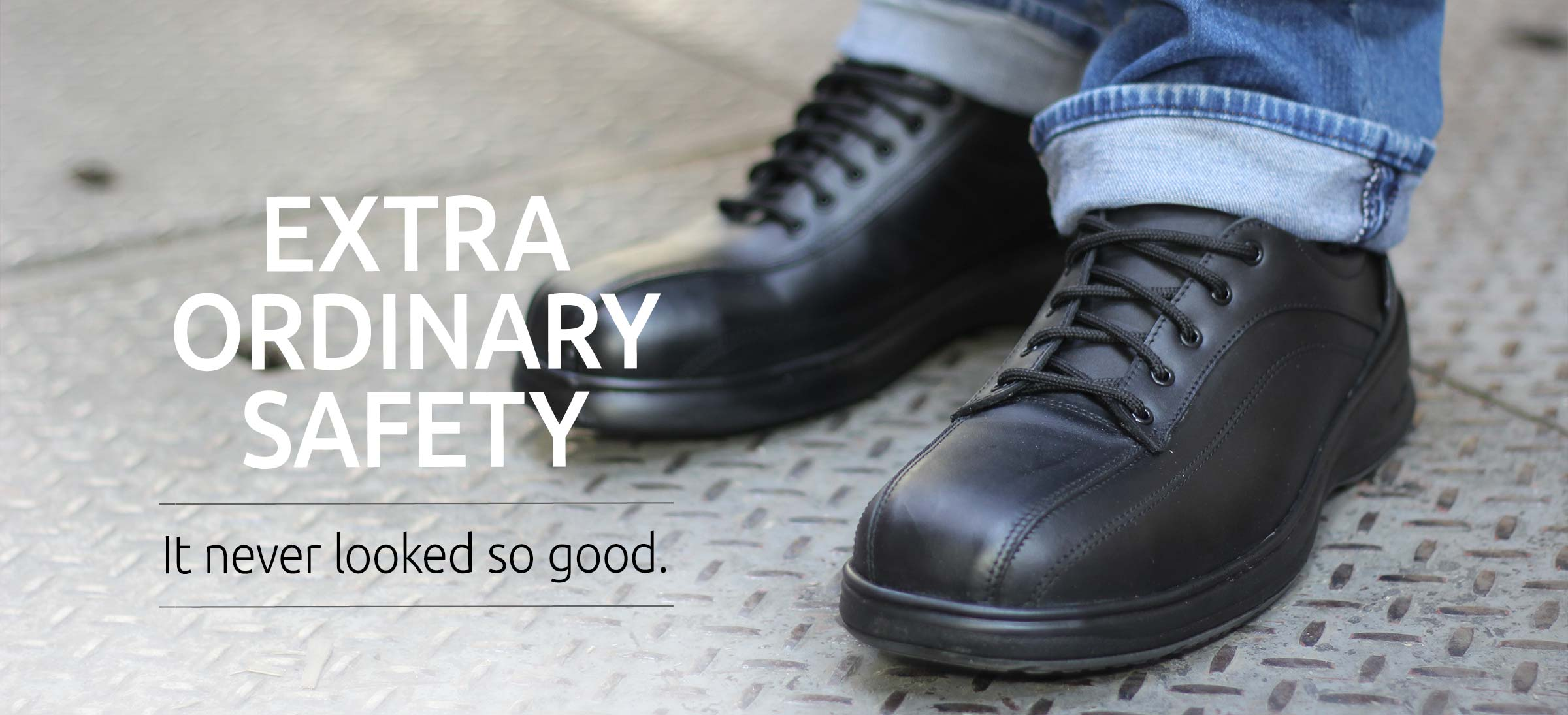 Extra ordinary safety shoe
