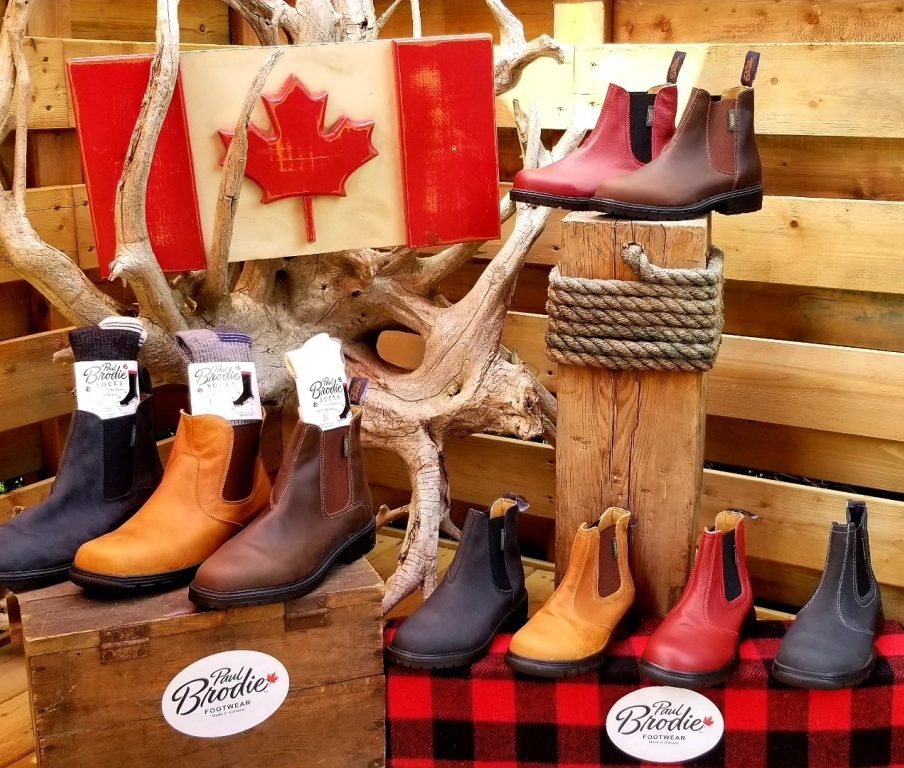 Paul Brodie boots